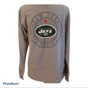 Men's medium New York Jets l/s tee. EUC